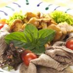 Rindfleisch Salat mit Schwammerl